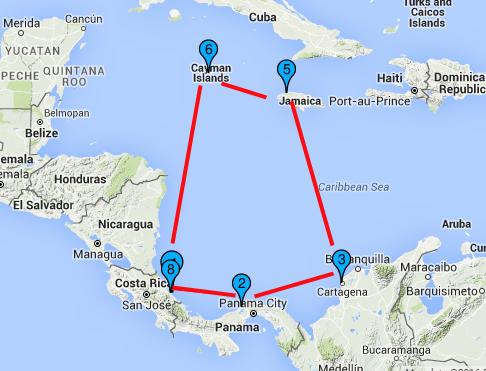 Crucero Pullmantur Costa Rica por el caribe| Salida en